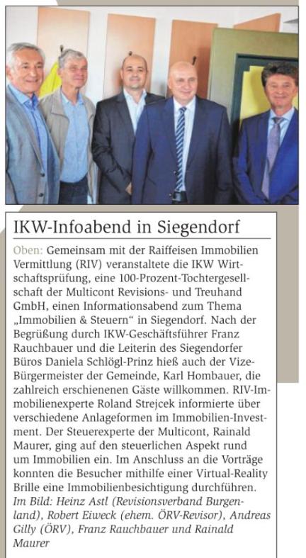 Infoabend IKW